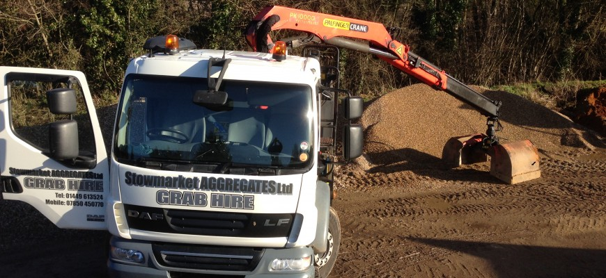 Digger & Grab Lorry Hire